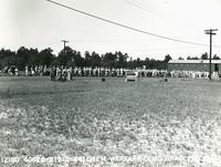Chemical warfare demonstration