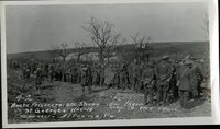 42. Boche prisoners. 600 strong. On their way to the ream. St. Georges, 11-1-1918.