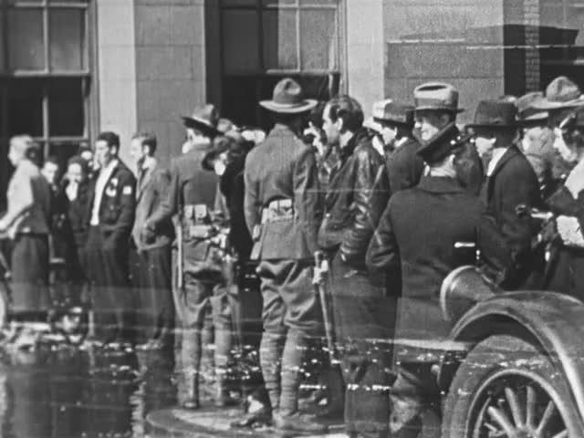 Hartford Flood, 1936; home movie