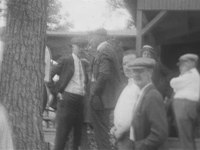 Fireman's Picnic; home movie, 1924