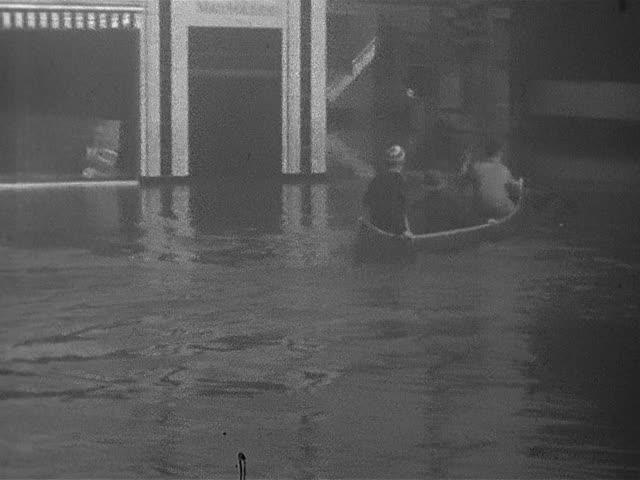 1937 flood, Hartford; home movie