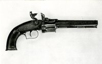 Collier flintlock revolver