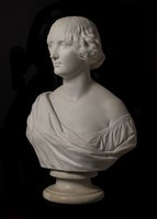 Sculpture: Marble bust of Jenny Lind