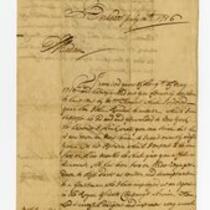 Dudley Woodbridge letter to Mrs. Naughtie