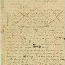 E. Spalding letter to John Warner Barber